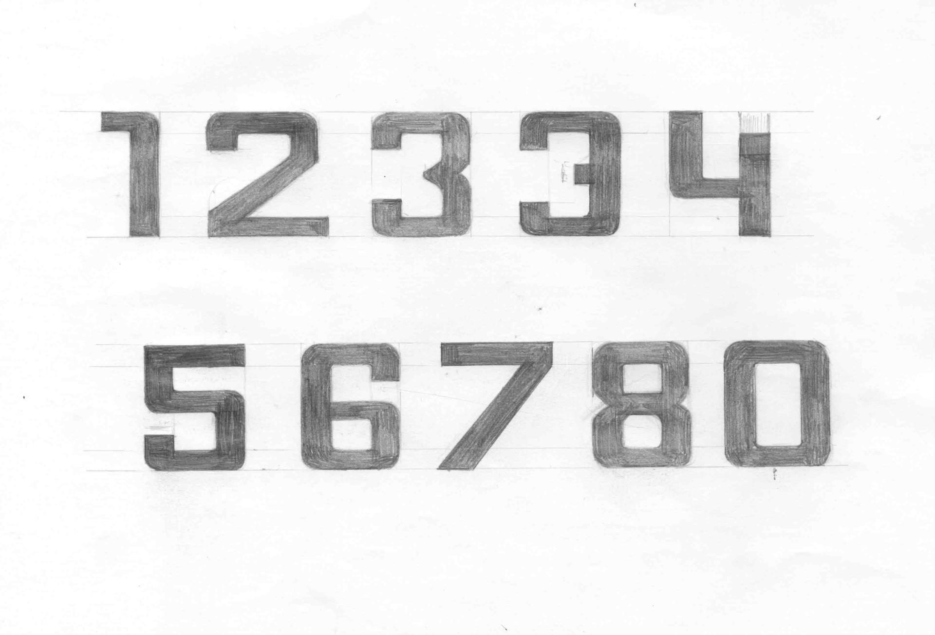 Merle Michaelis / Lettering & Typografie Chevy