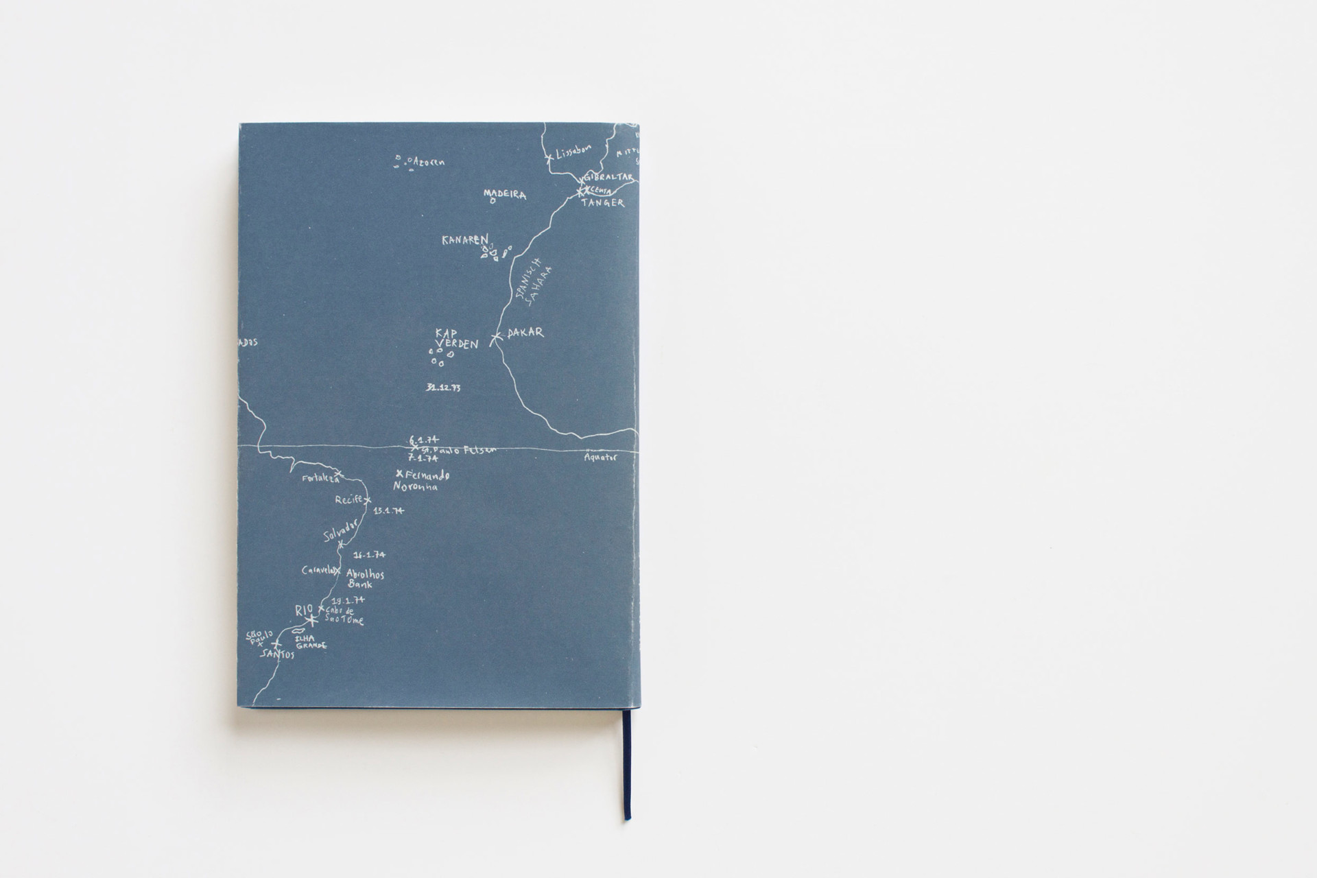 Merle Michaelis / Lettering & Typografie Ein Reisebrief