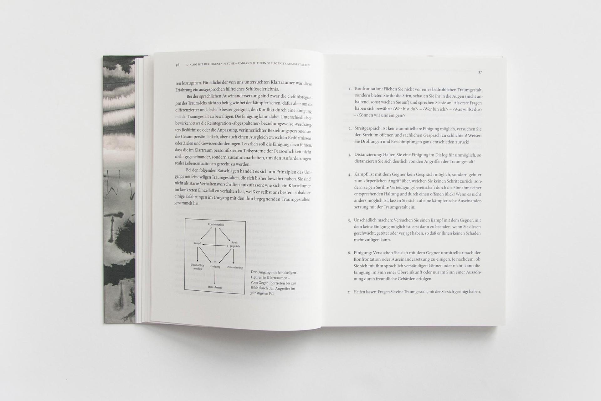 Merle Michaelis / Lettering & Typografie Klartraumforschung