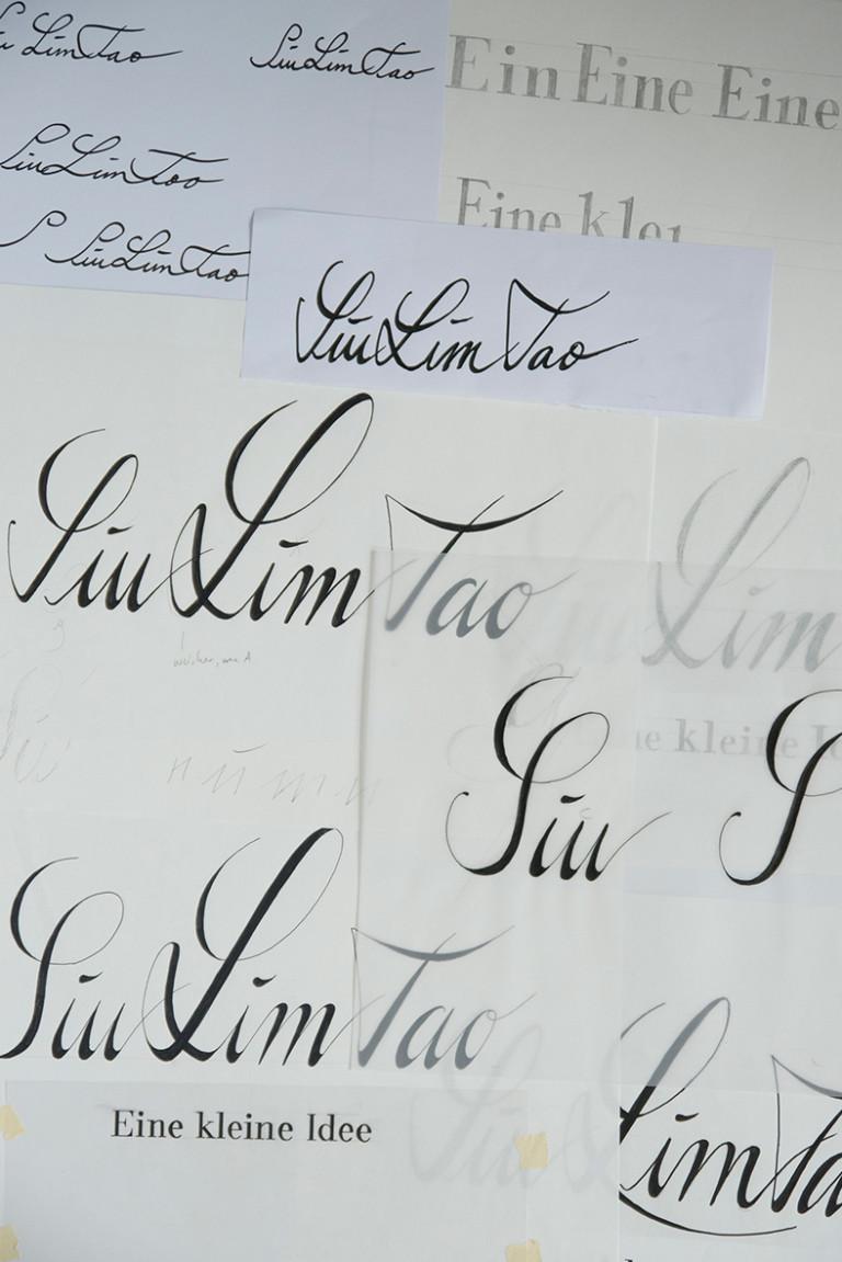 Merle Michaelis / Lettering & Typografie Siu Lim Tao Lettering